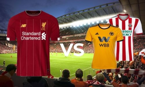2PACK - Liverpool vs. Wolverhampton  Liverpool vs. Sheffield