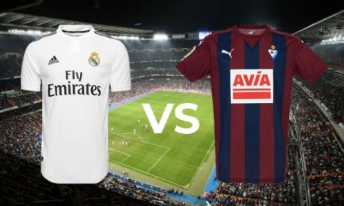 Real Madrid vs. Eibar