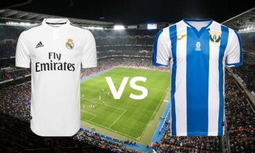 Real Madrid vs. Leaganes